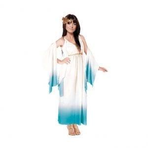תחפושת קיסרית רומא כחולה לנשים