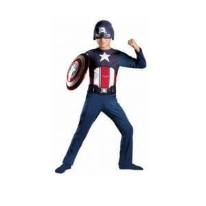 תחפושת קפטן אמריקה אוברול – פורים רוביס