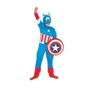 תחפושת קפטן אמריקה לבנים