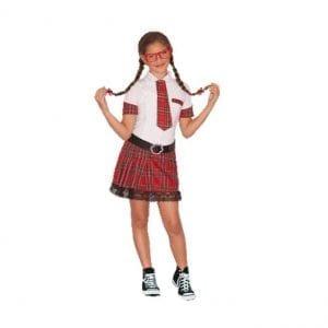 תחפושת תלמידת תיכון לנוער