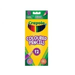 12 עפרונות צבעוניים