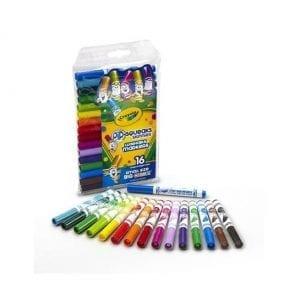 16 מיני טושים צבעוניים