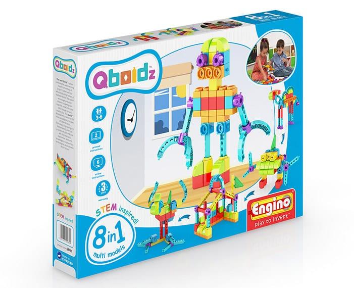משחק הרכבה אנג'ינו 8 ב-1 הרכבה רובוט