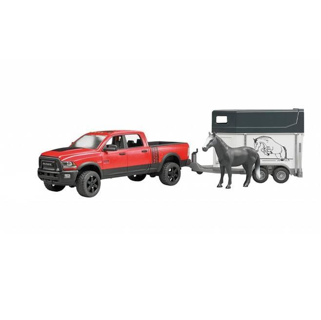 ג'יפ ראם + עגלת סוס – BRUDER