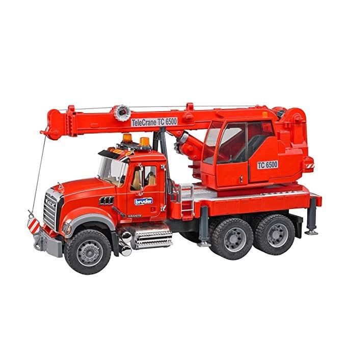 משאית מנוף הרמה MACK – BRUDER