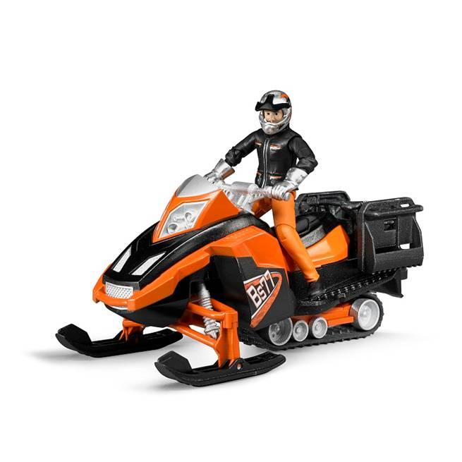 אופנוע שלג + נהג – BRUDER