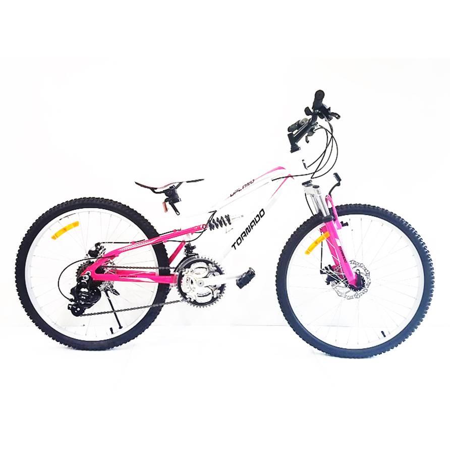 אופני אלומיניום לילדים ונוער – אופני טורנדו M9 ורוד