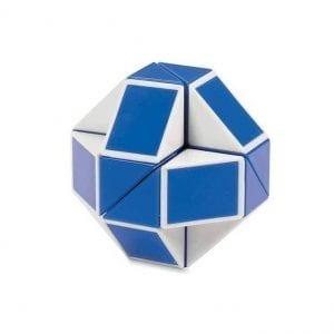קוביה הונגרית טוויסט כחול לבן Rubix's Twist