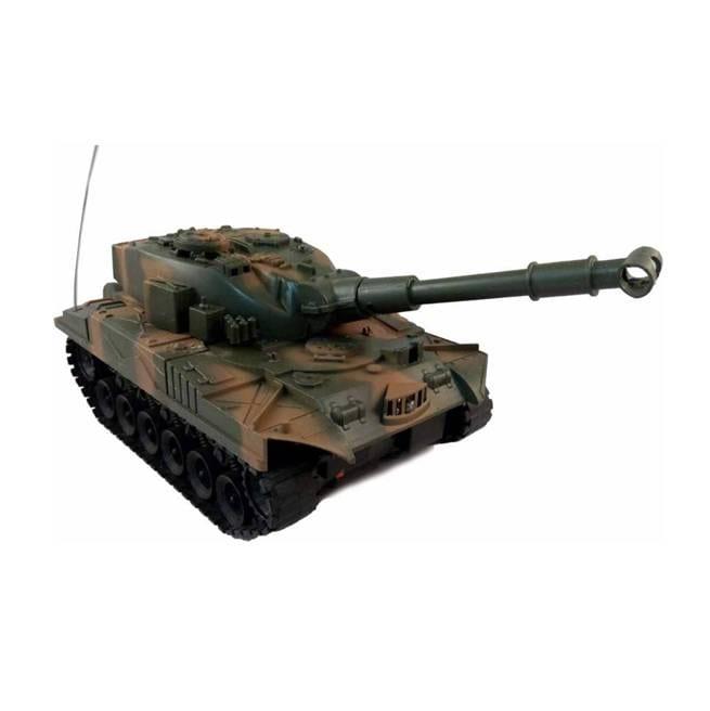 טנק צבאי עם שלט רחוק RC