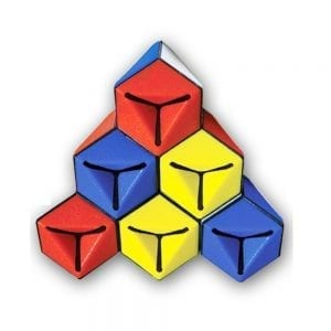 קוביה הונגרית משולשת מיוחדת Rubik's Triamid