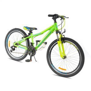 אופני אלומיניום לילדים ונוער –  טורנדו M8 ירוק