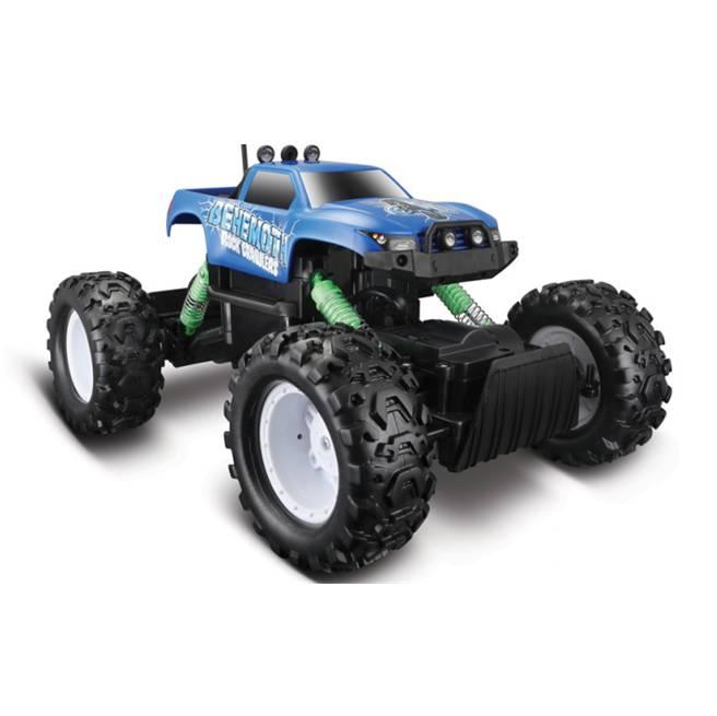 מכונית על שלט מאיסטו כחול Maisto R/C Rock Crawler 4X4