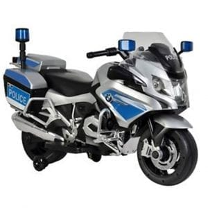 אופנוע משטרה ענק ממונע לילדים BMW 12V