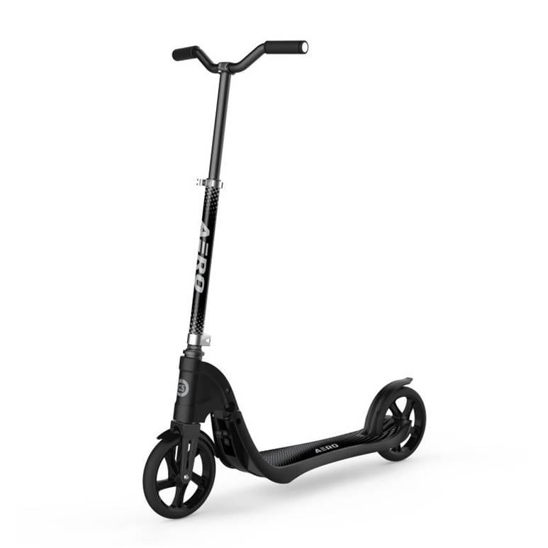 """קורקינט ילדים 2 גלגלים גדולים 200 מ""""מ ארו XL – שחור"""
