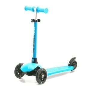 קורקינט ילדים 3 גלגלים מתכוונן מיני FUN-WHEEL כחול