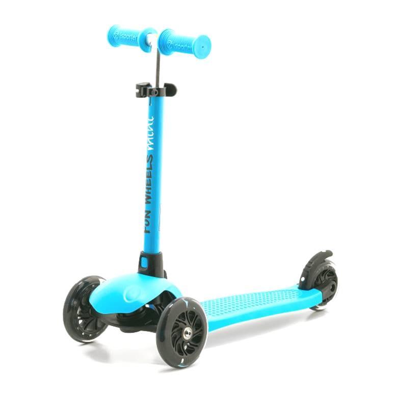 קורקינט 3 גלגלים מתכוונן מיני FUN-WHEEL כחול