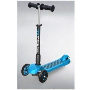 קורקינט ילדים 3 גלגלים מתכוונן FUN-WHEEL XL כחול