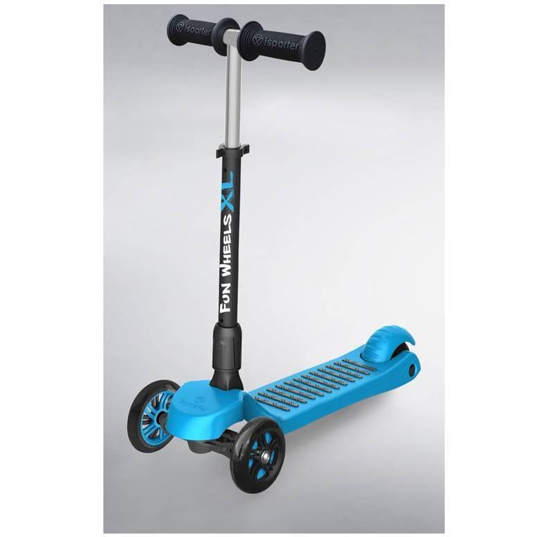 קורקינט 3 גלגלים מתכוונן FUN-WHEEL XL כחול