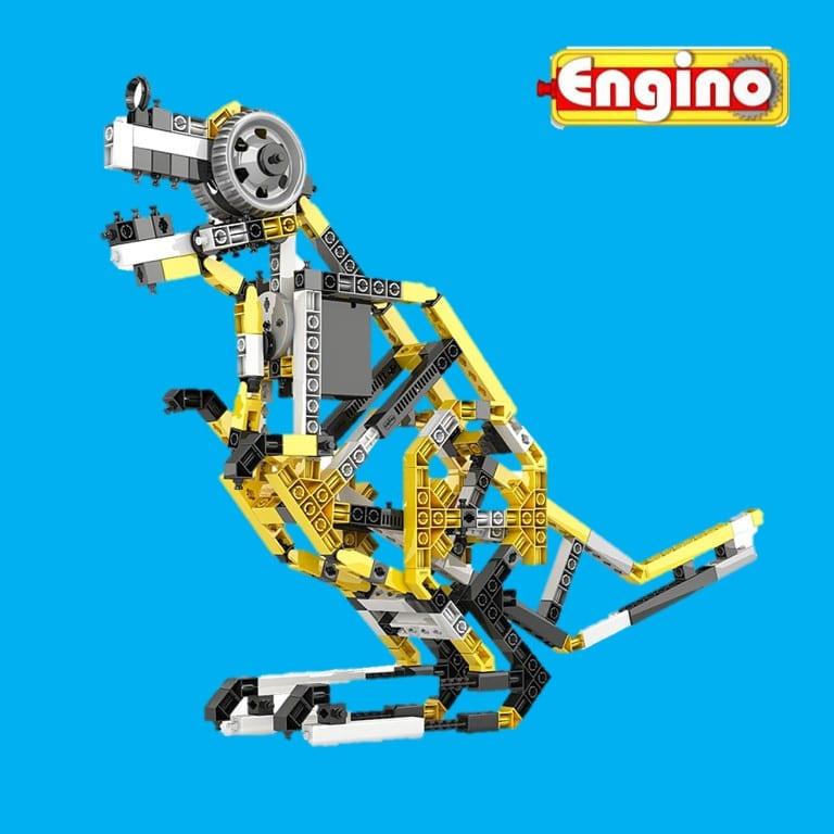 אנג'ינו   ENGINO  - עולם שלם של משחקי הרכבה מיוחדים.   אזהרה:לא תוכלו לקום מהכסא!