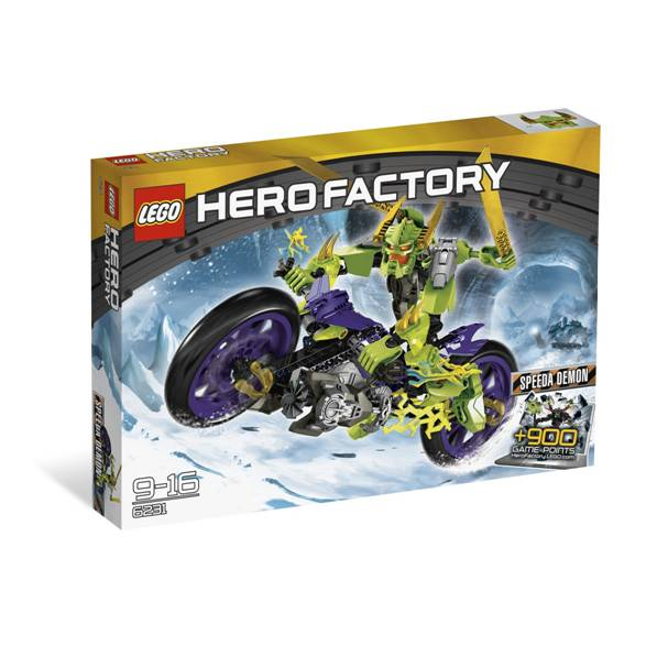 6231 דמות על אופנוע הירו