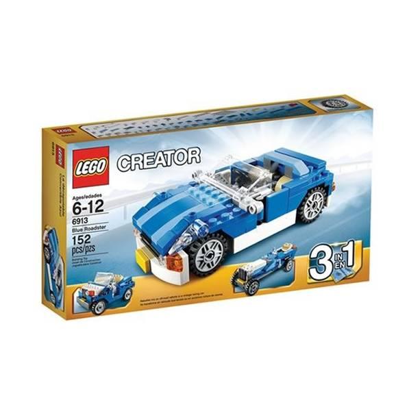 6913 מכונית מירוץ כחולה