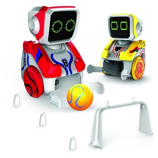 קיקה בוט – זוג רובוטי כדורגל עם שלט רחוק