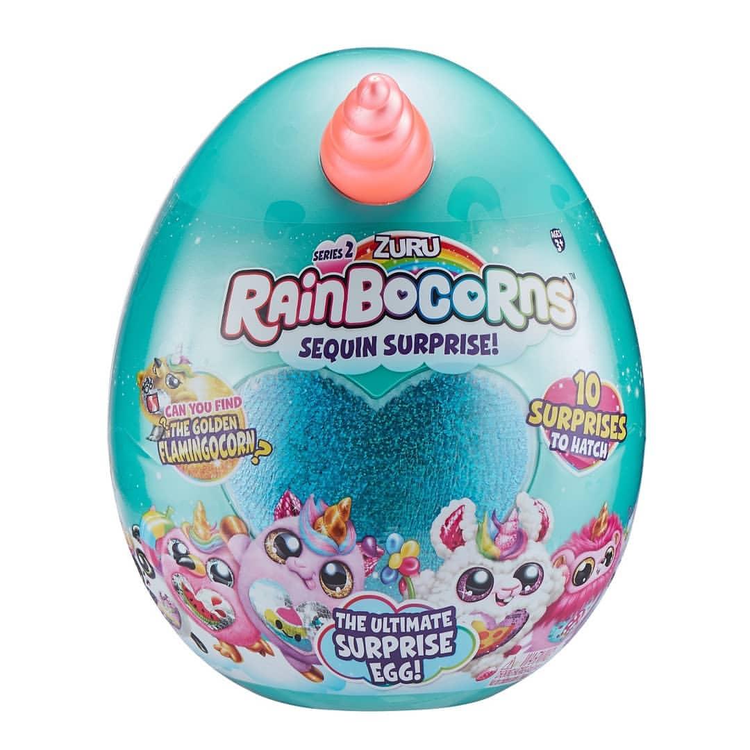 ריינבוקורן – ביצת הפתעה עם בובה
