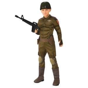 תחפושת חייל ישראלי שרירי לילדים – פורים רוביס