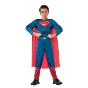 תחפושת סופרמן שרירי דלוקס ילדים – פורים רוביס