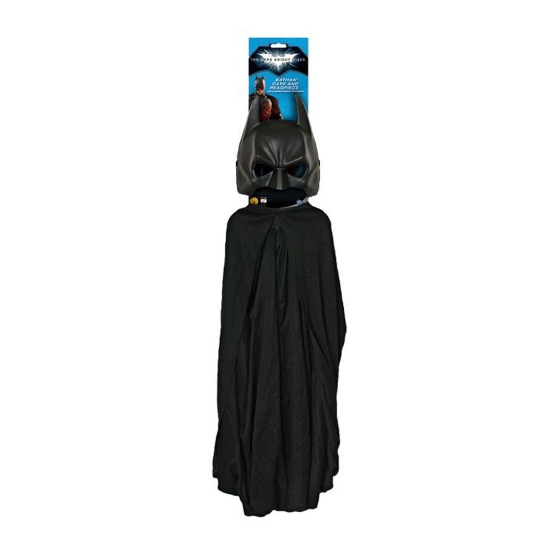 גלימת באטמן + מסיכה למבוגרים לפורים