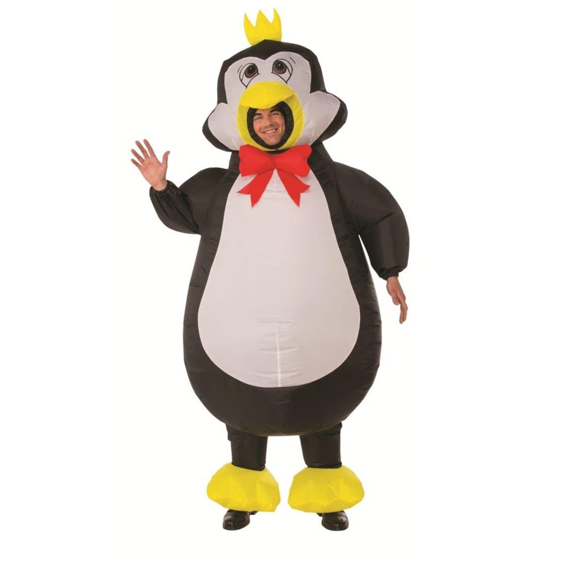 תחפושת פינגווין מתנפח למבוגרים – פורים רוביס