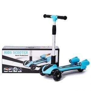 קורקינט 3 גלגלים סילון עם אורות ועשן מדומה