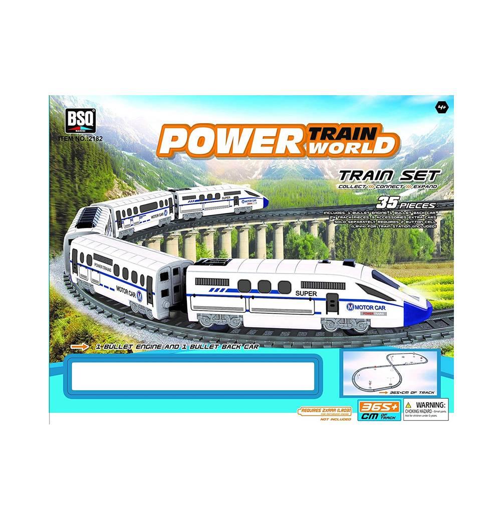 רכבת חשמלית 35 חלקים