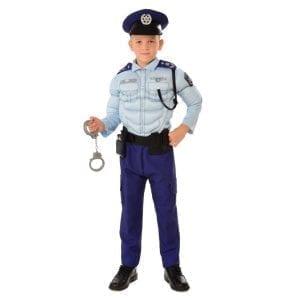 תחפושת שוטר ישראלי שרירי לילדים – פורים רוביס