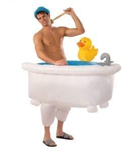 תחפושת האיש באמבטיה למבוגרים – פורים רוביס