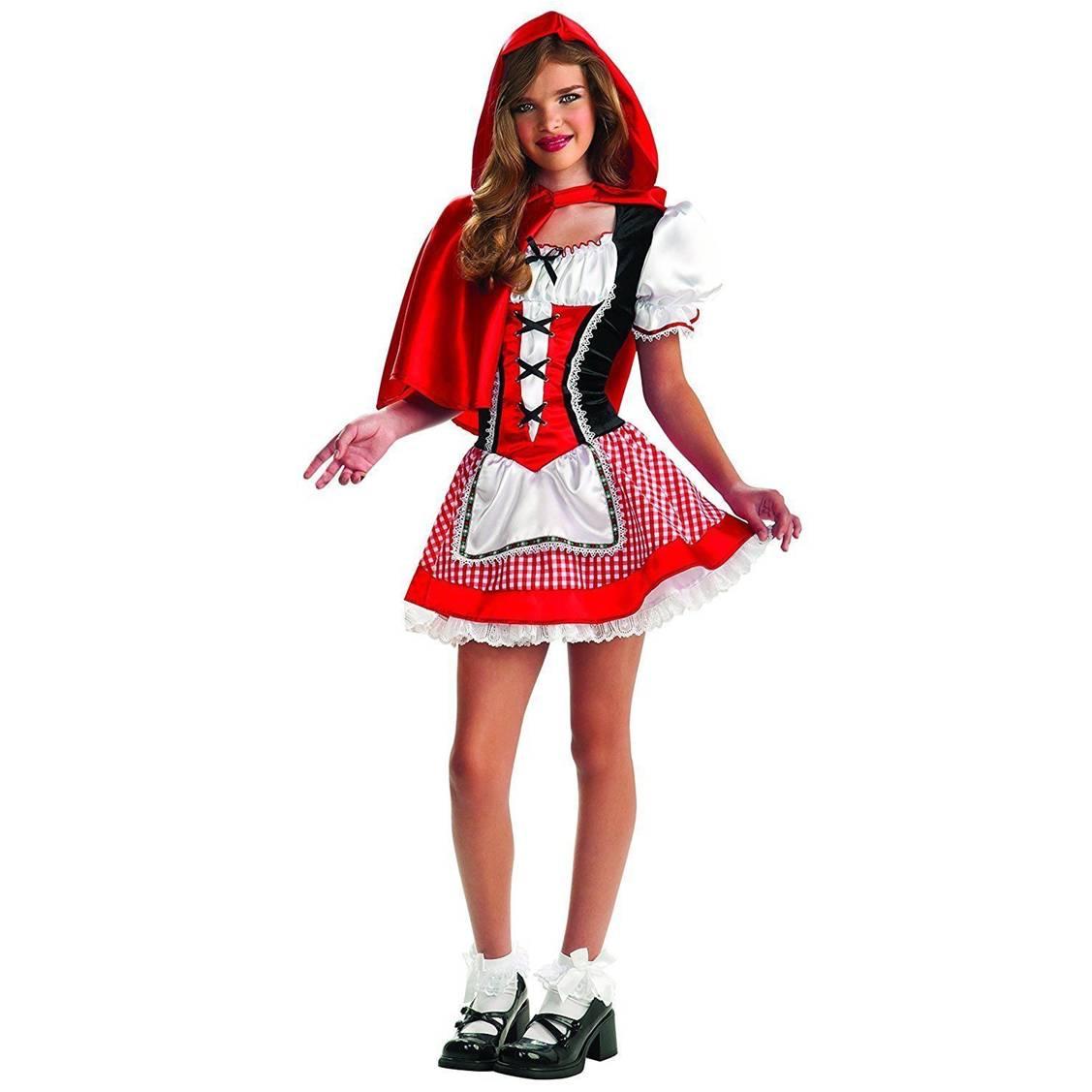 תחפושת כיפה אדומה לנערות – פורים רוביס
