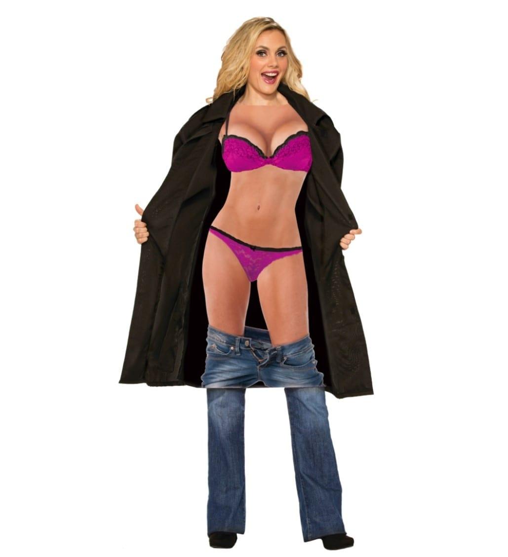 תחפושת מה בתוך המעיל לנשים – פורים רוביס