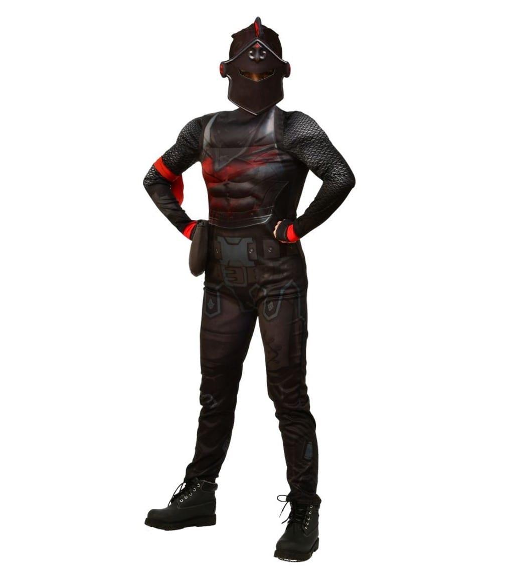 תחפושת פורטנייט – האביר השחור – בלאק נייט דלוקס שרירי – פורים רוביס