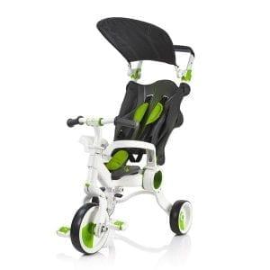 תלת אופן מתקפל לתינוקות גלילאו 4 ב-1 ירוק