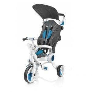 תלת אופן מתקפל לתינוקות גלילאו 4 ב-1 כחול