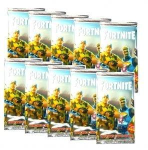 10 חבילות קלפי משחק פורטנייט