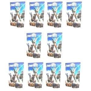 10 חבילות – 10 דמויות + 30 קלפי משחק פורטנייט