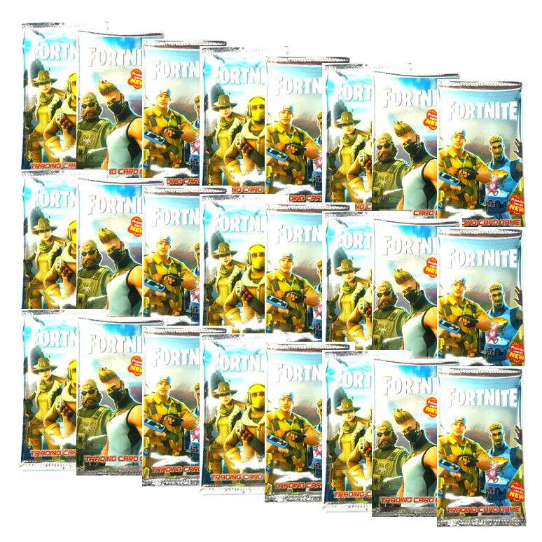 24 חבילות קלפי משחק פורטנייט