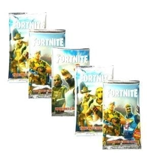 5 חבילות קלפי משחק פורטנייט