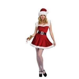 תחפושת מיס סנטה לנשים – פורים רוביס