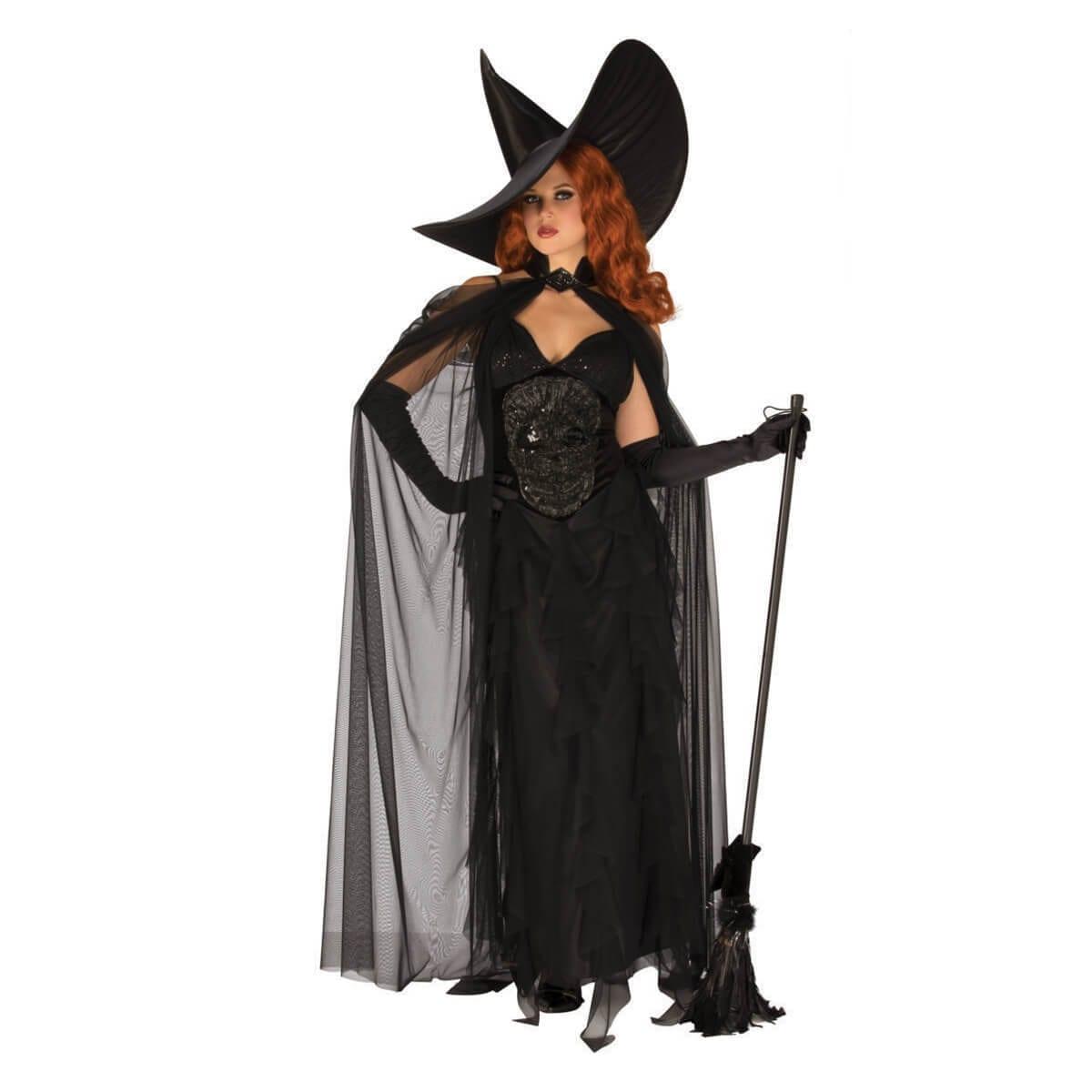תחפושת מכשפה אלגנטית לנשים – פורים רוביס