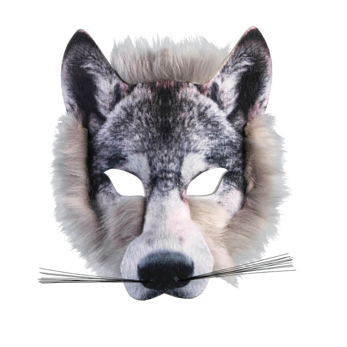 מסיכת זאב פרוותית לפורים