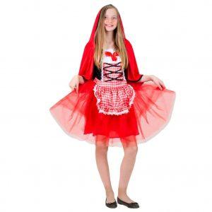 תחפושת כיפה אדומה לנערות  – פורים שושי זוהר