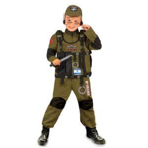 תחפושת לוחם צנחנים לילדים – פורים שושי זוהר