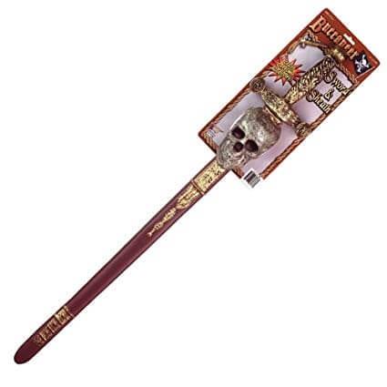 חרב גולגולת עם נְדָן – פורים